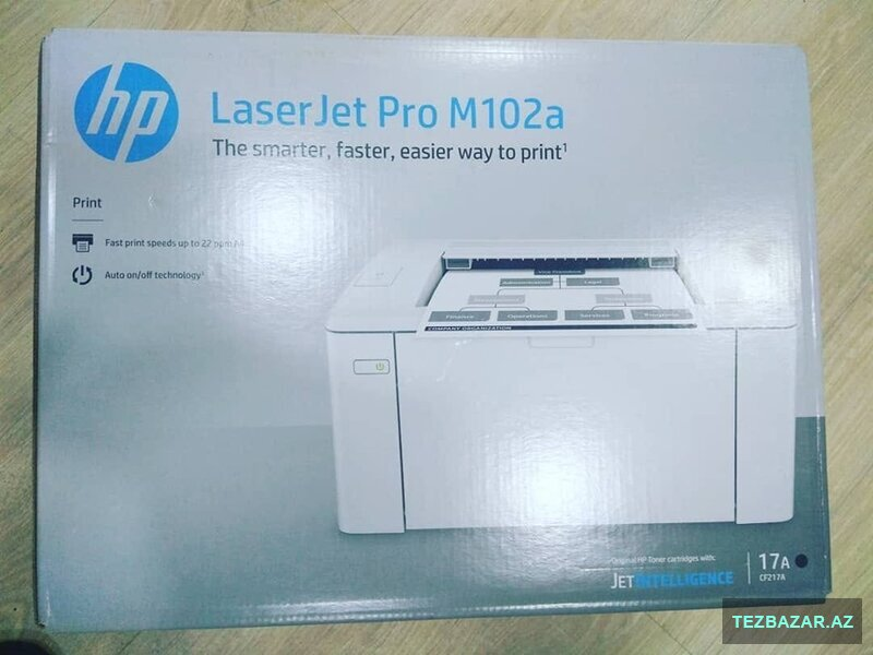 Printer: hp laserjet Pro M102a