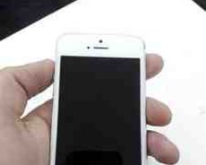 Apple iPhone 5S white