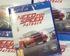 Need for speed payback Ps4 oyunu. Tam bağlı upokovkada orginal
