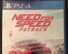 PS4 üçün Need for Speed Payback oyunu