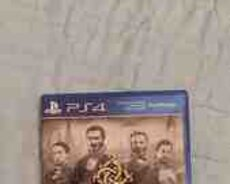 The Order PS4 oyun diski