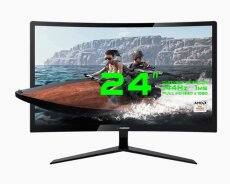 23.6 fhd Curved Gaming monitoru