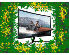 23.6 fhd Curved Gaming monitor