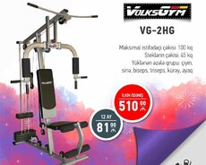 volks gym trenajor